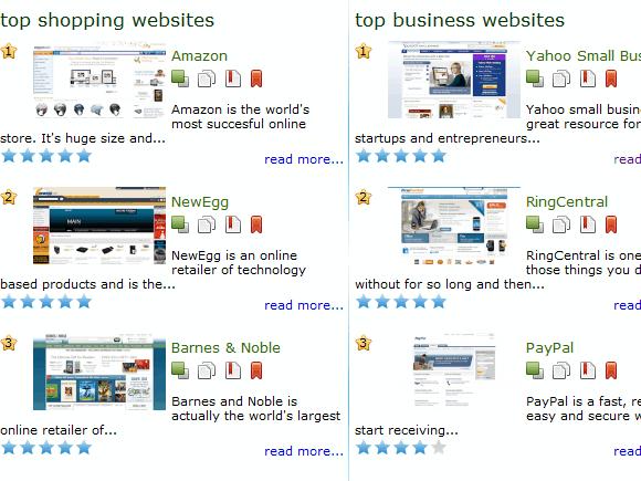 online bookmarking website