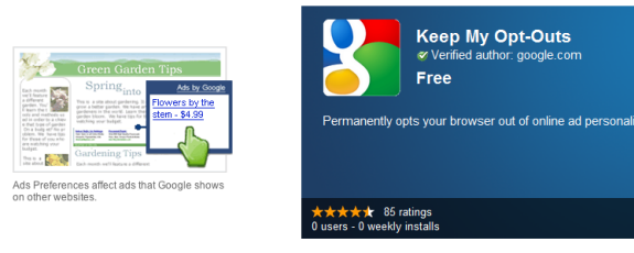 opt out of google ads
