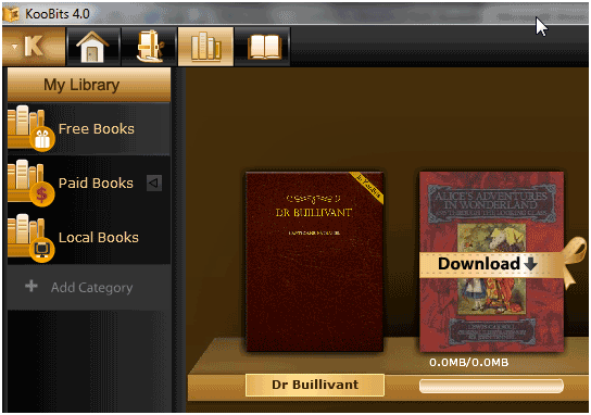 desktop ebook reader