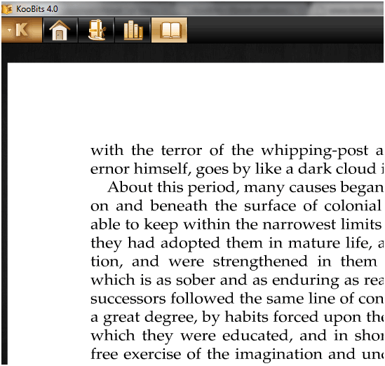 Koobits: A Great Desktop Ebook Reader Application koobits2