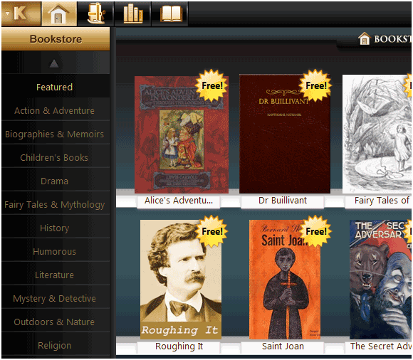 Koobits: A Great Desktop Ebook Reader Application koobits3