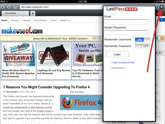 a better web browser ipad