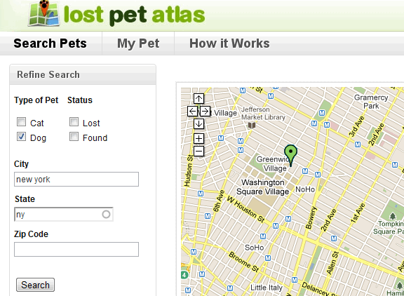 lost and found pets