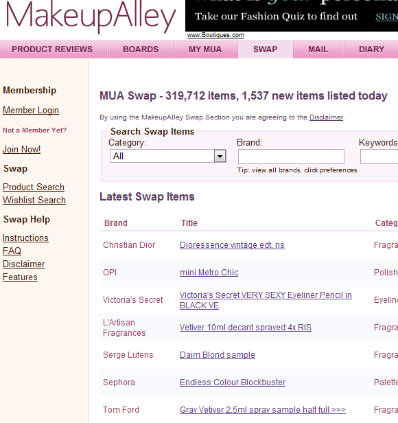 makeup   MakeUpAlley: Beauty & Makeup Social Network