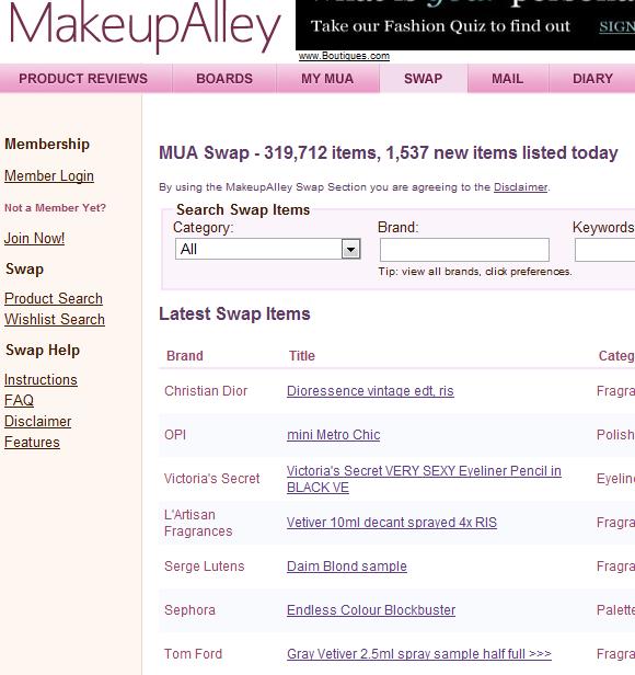 makeup   MakeUpAlley: Beauty & Makeup Social Network