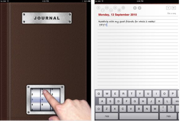 writing ipad applications