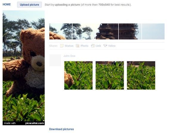 customize pictures for facebook