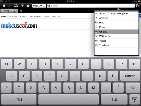 browsers for ipad