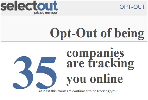opt out tracking cookies