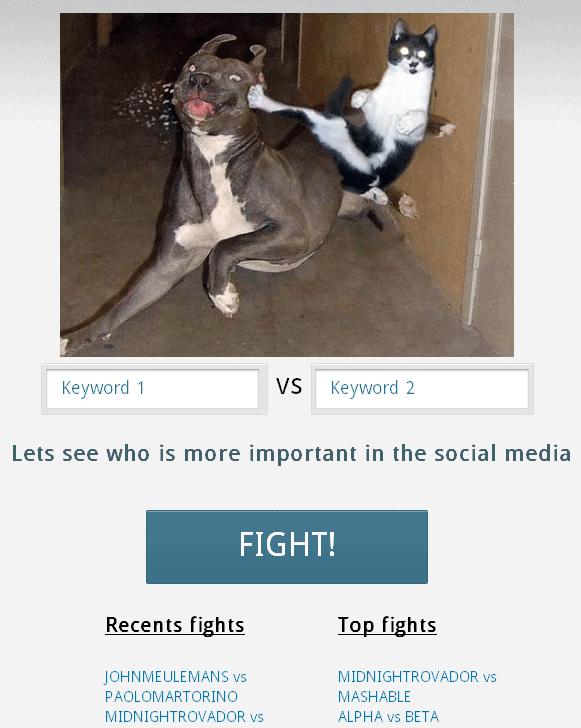 compare social media