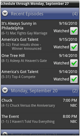tv guide for android