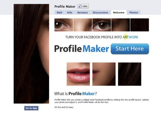 facebook profile customizer