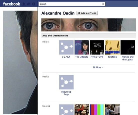 customize facebook