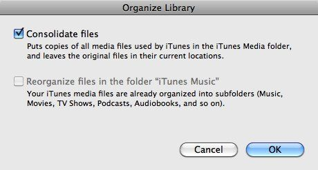 move itunes library to new drive