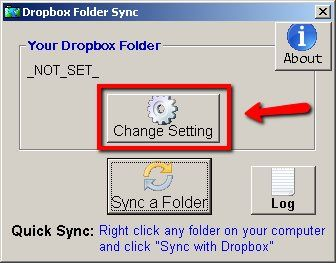 symlinks dropbox folder