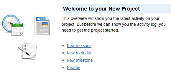 project management tools like basecamp