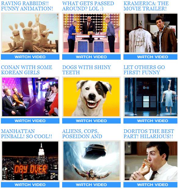 days top videos
