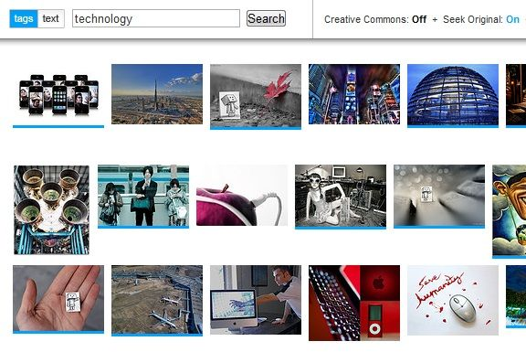 flickr search engine
