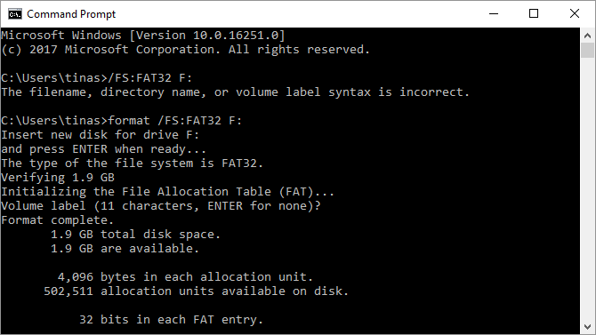 How to Format a Large Hard Drive With FAT or FAT32 Fat Formatting