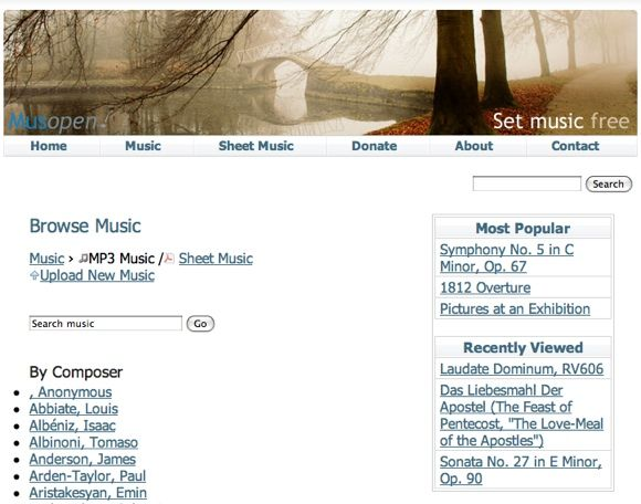The Top 10 Sites To Listen To Classical Music MusOpen