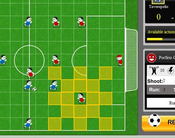 strategic soccer game