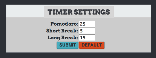 3 Of The Best Free Pomodoro Productivity Apps TomatoTimer2