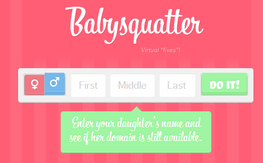 domain name for babies