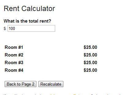 fair rent calculator