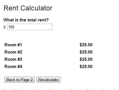calculate   Rent Calculator: Fair Apartment Rent Calculation Online
