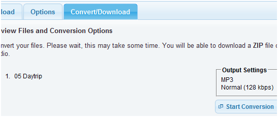 ConvertAudioOnline: Free Batch Audio File Converter Online convert audio online2