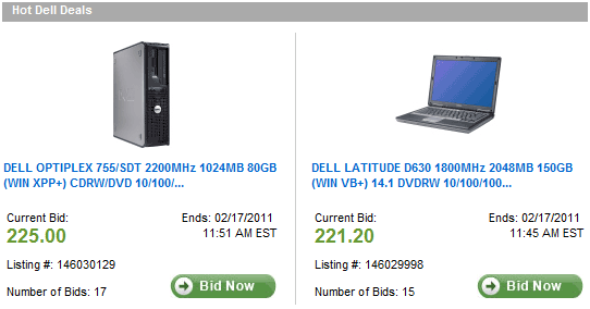 refurbished computers from dell