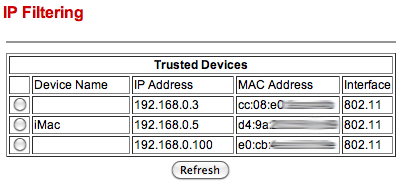 monitor wifi network use