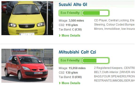 eco friendly automobiles