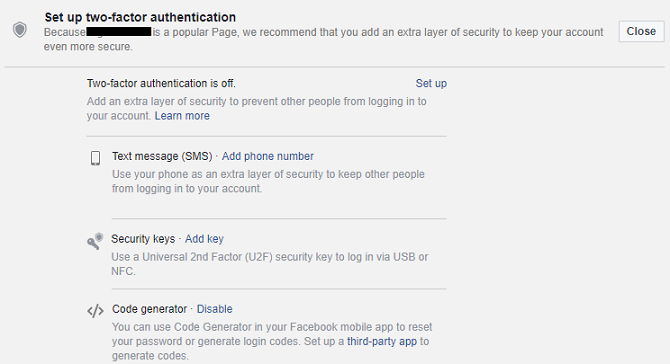 How to check if someone else is accessing your facebook account how to check if someone else is accessing your facebook account facebook two factor auth 670x364 ccuart Image collections