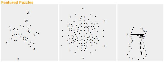 make dot to dot puzzles