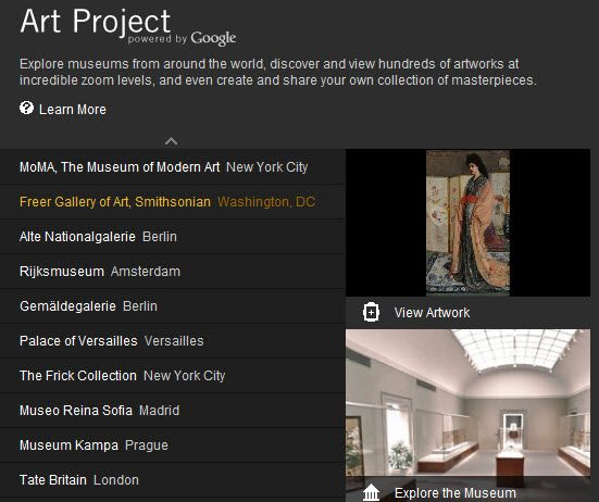 browse museum collections