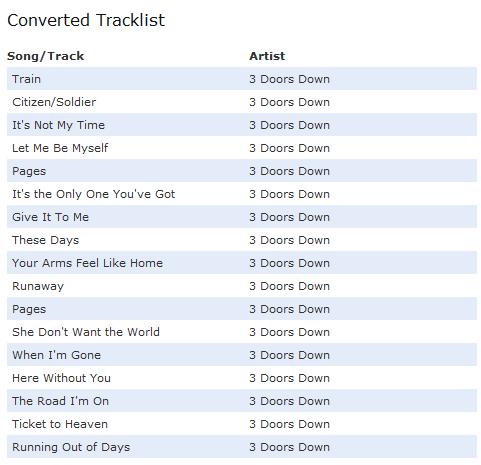 Groovylists: Migrate Last.fm, Spotify & iTunes Playlists To Grooveshark groovylists3