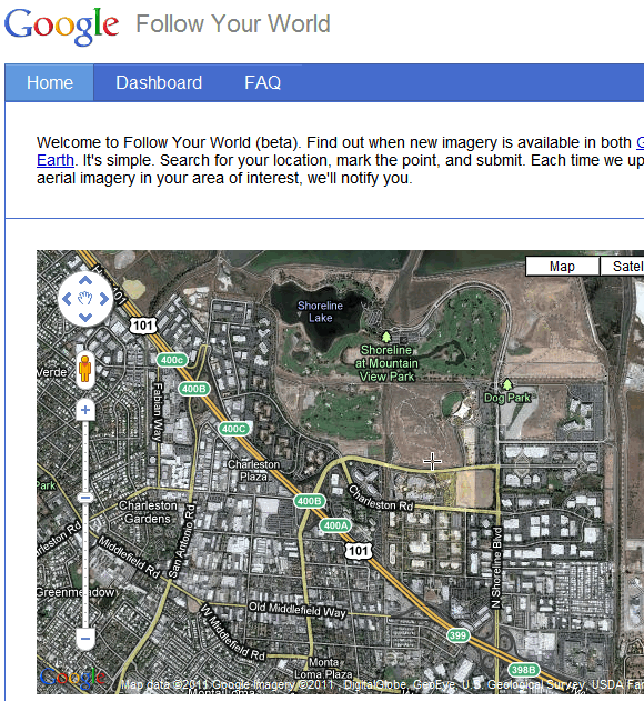 image thumb   FollowYourWorld: Get Alerts On Specific Google Map Changes
