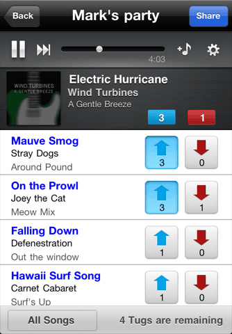 image thumb15   Tunetug: Vote Up Or Vote Down Songs For Your Party