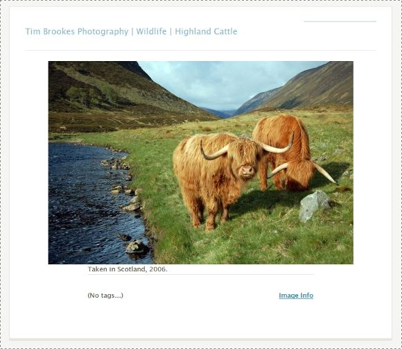 Zenphoto - A Mighty Powerful Photoblog Engine for Your Website imageview