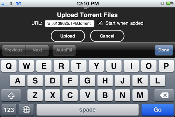 mobile torrent client