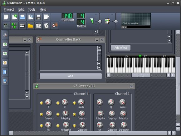 music creation software linux