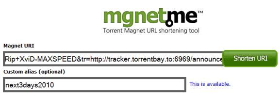 make magnet link
