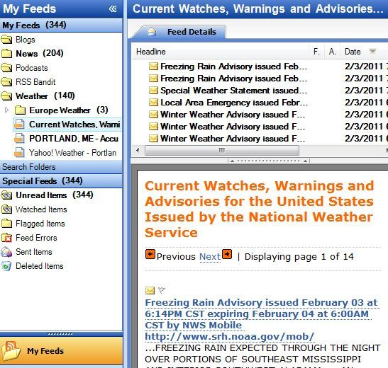 The 7 Best Feeds For RSS Weather Updates nweather8