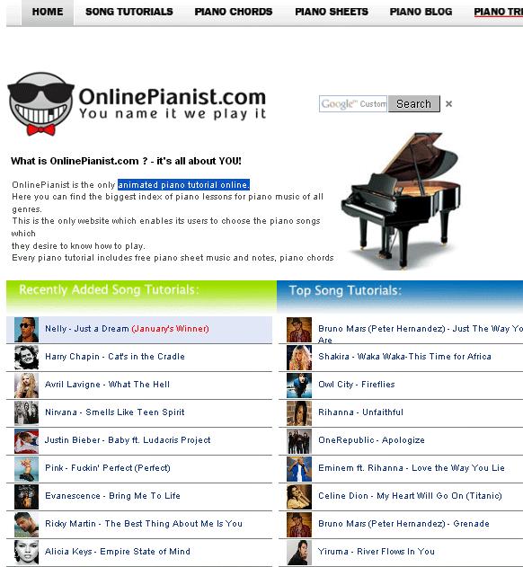 animated piano tutorial