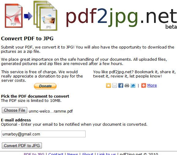 convert pdf pages to images