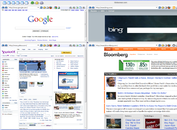 multi pane browser