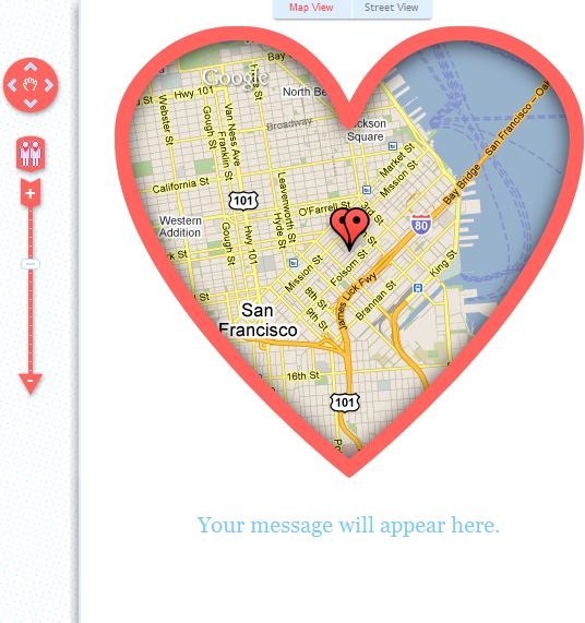 MapYourValentine: Remind Loved Ones of That Special Place valen