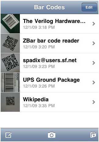 Zbar: Read QR Codes on PC or iPhone zbar2