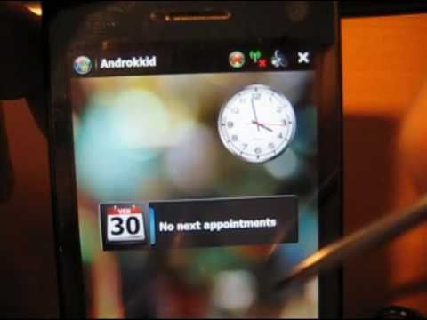Androkkid – Make Your Windows Mobile Look Like Android